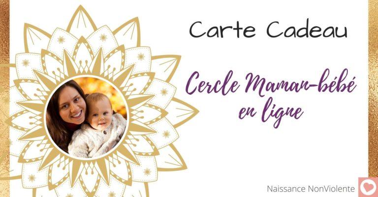 Cercle mamans-bébé en ligne